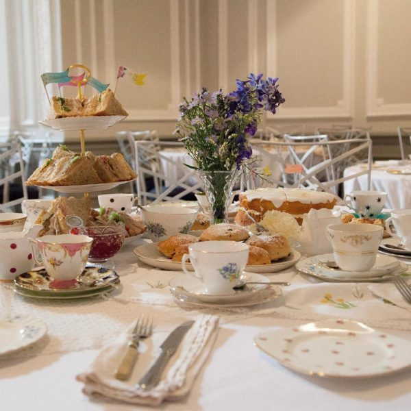 Afternoon tea at The Old Bell