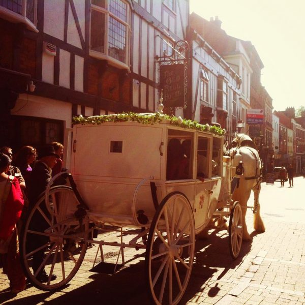 Sadler Gate carriage