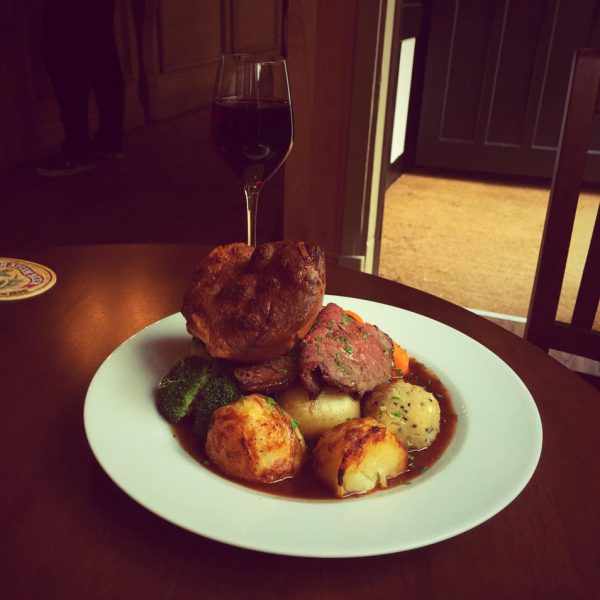 The Old Bell Sunday lunch