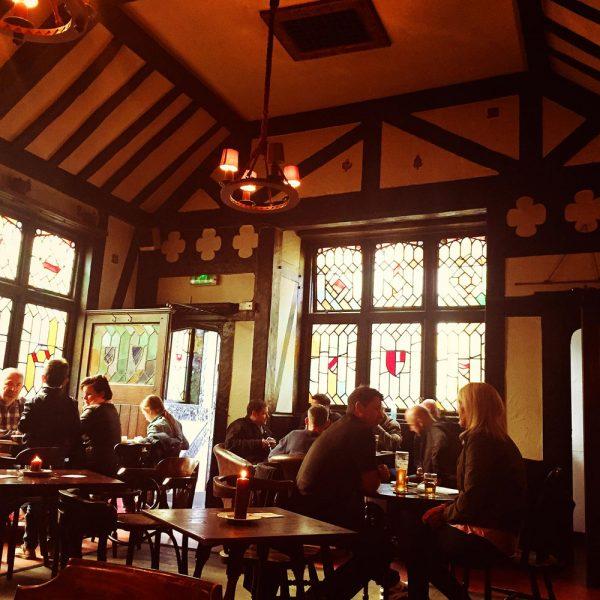 Tudor Bar in summer