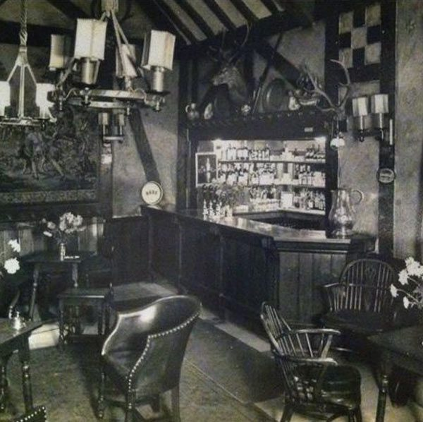 history of The Old Bell Tudor bar