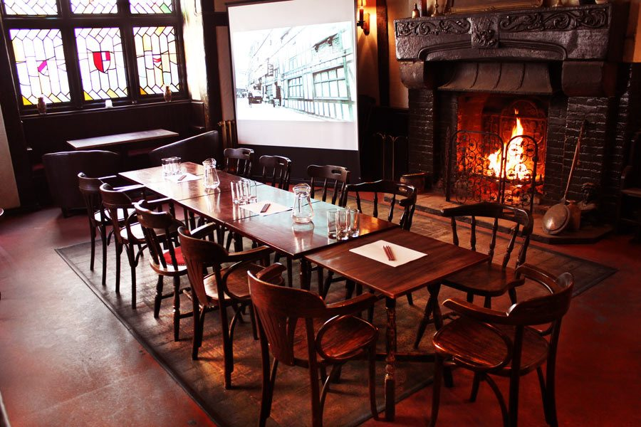 Tudor bar function room in Derby