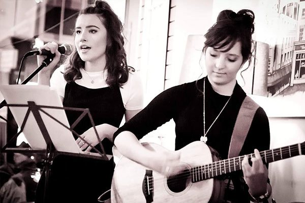 Evie and Orla acoustic music