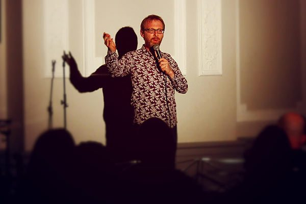 Comedy night in Derby