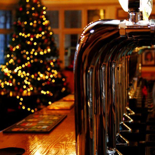 Christmas bar in Derby