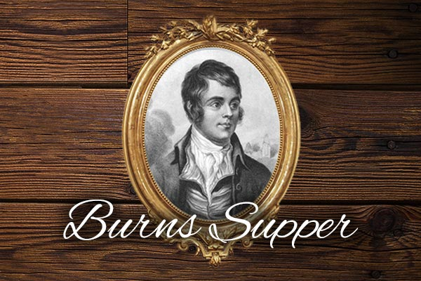 burns night supper event in Derby