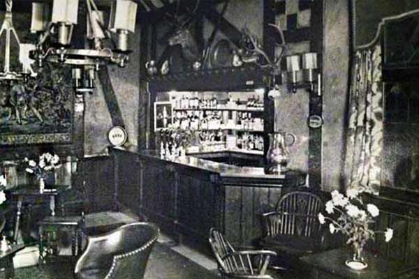 The Old Bell Tudor Bar History