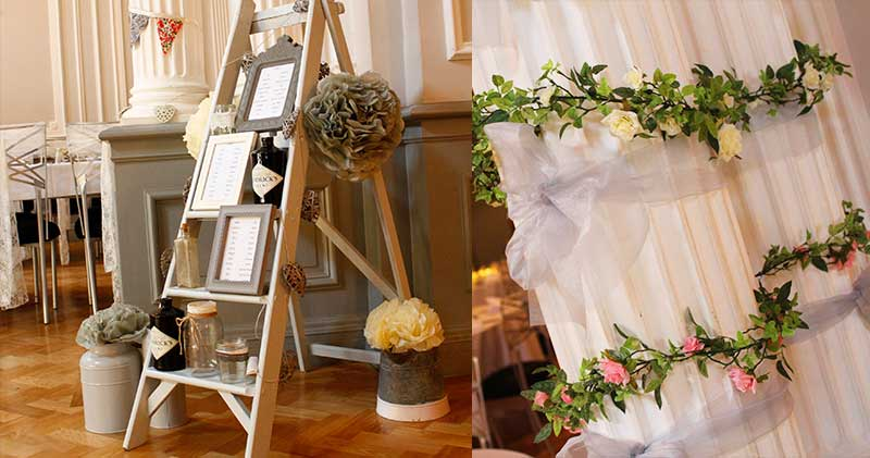 Intimate weddings in Derby decorations
