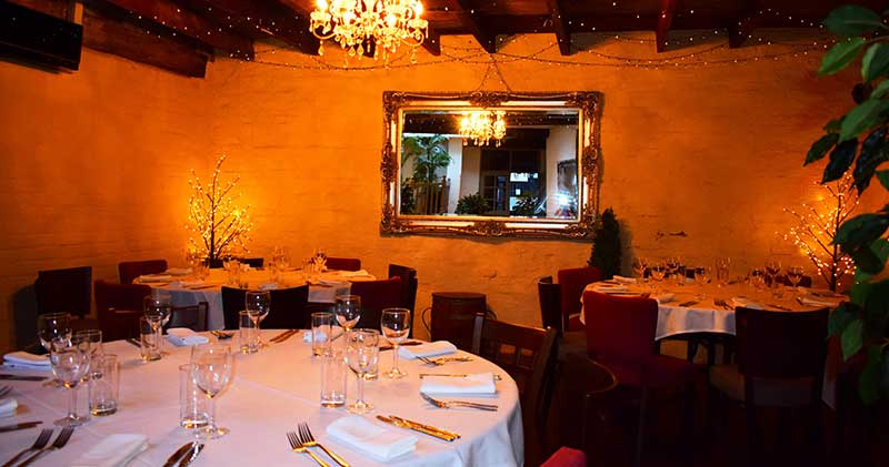 intimate weddings in Derby cosy function rooms