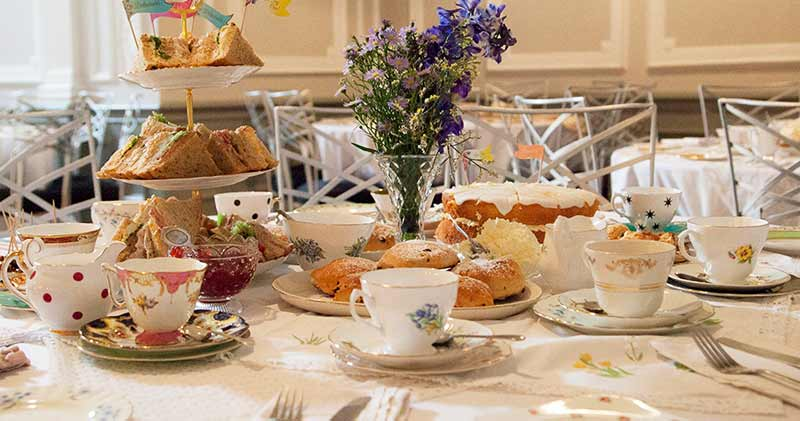 Afternoon tea birthday party idea in Derby
