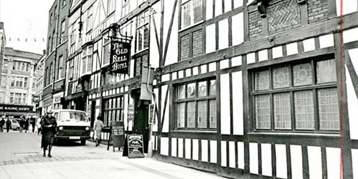 History of The Old Bell Hotel Derby