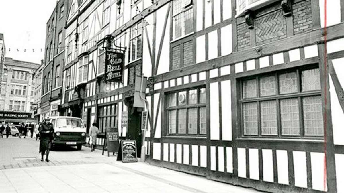 The Old Bell Hotel on Sadler Gate