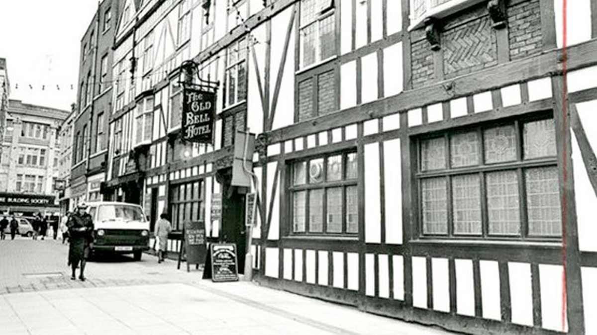 The Old Bell Hotel on Sadler Gate